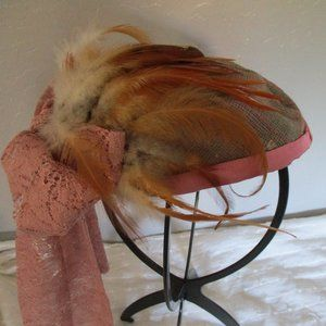 Feathered vintage fascinator